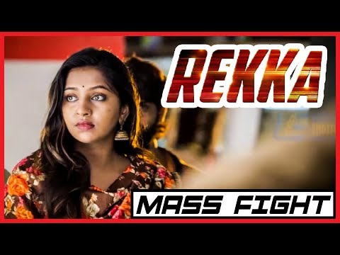 Rekka - Tamil Movie - Mass Fight Scene 2 | Vijay Sethupathi | Lakshmi Menon | D Imman