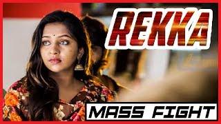 Rekka - Tamil Movie - Mass Fight Scene 2 | Vijay Sethupathi | Lakshmi Menon | D Imman