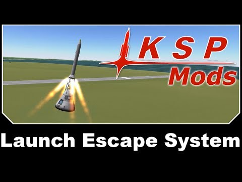 KSP Mods - Launch Escape System