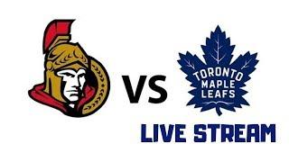 Ottawa Senators vs Toronto Maple Leafs Live | NHL Preseason 2019 | Play By Play Stream