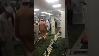 صوت ينقلك إلى عوالم أخرى، تلاوة المنشد العالمي محمد العزاوي بمسجد أستوكهولم