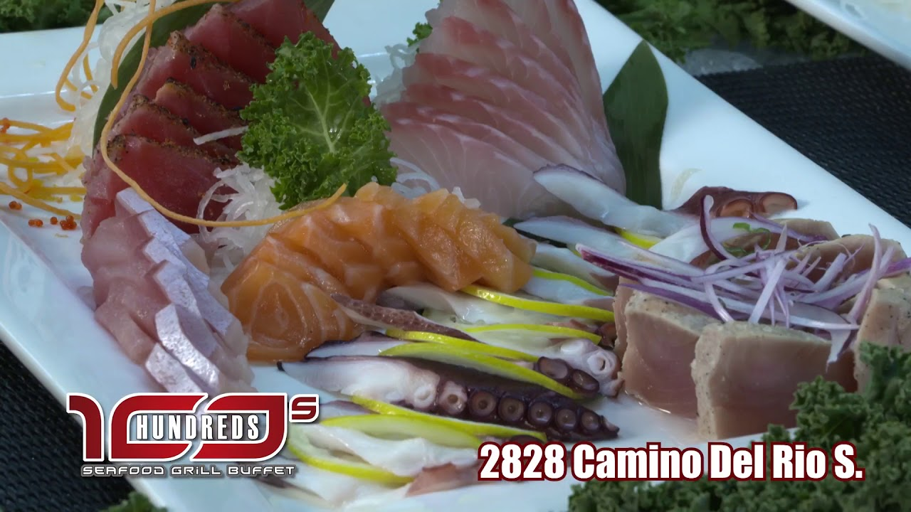 100s Buffet Seafood Grill Buffet - YouTube