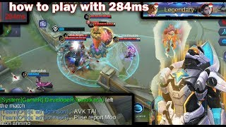 Gameplay Gatot epic skin with 300 ms | mobile legends funny | lucu
