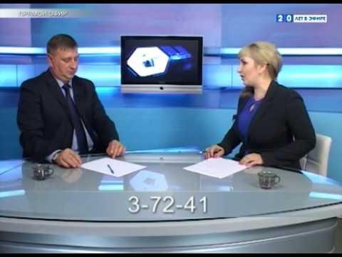 Гость в студии  Глава Берёзовского городского округа   Д А Титов