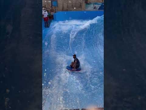 Flowrider at Wild Wadi Waterpark in Dubai #Shorts