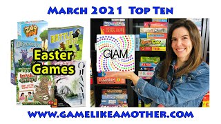 Game Like a Mother Top Ten March 2021: Easter Games
