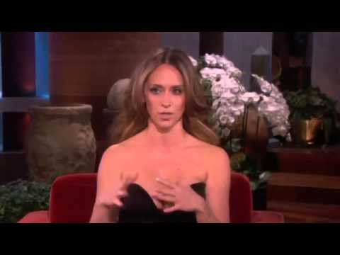 Jennifer Love Hewitt's Head Turning Dress on The Ellen Degeneres