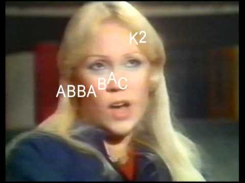 ABBA RARE SNIPPET FROM THE DON LANE SHOW SHOWN 22 FEB 1977