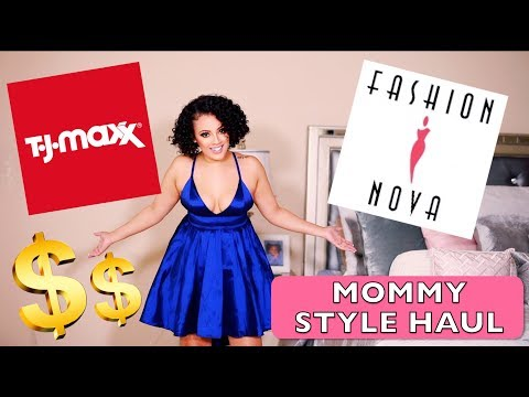 Mom Friendly Style Haul ft. FASHION NOVA | Viva_Glam_Kay
