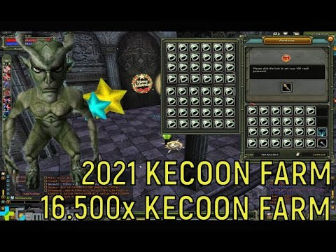 (2021) ESKİ EFSANE 16.500X KECOON FARM - KNİGHT ONLİNE