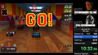 Re-volt All cups Speedrun 1:08:48