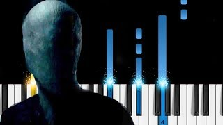 Slender Man (2018 movie) - Theme Song - Piano Tutorial