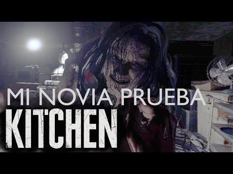 Reacción de mi novia al probar Resident Evil 7: Biohazard THE KITCHEN Demo [ Playstation VR ]