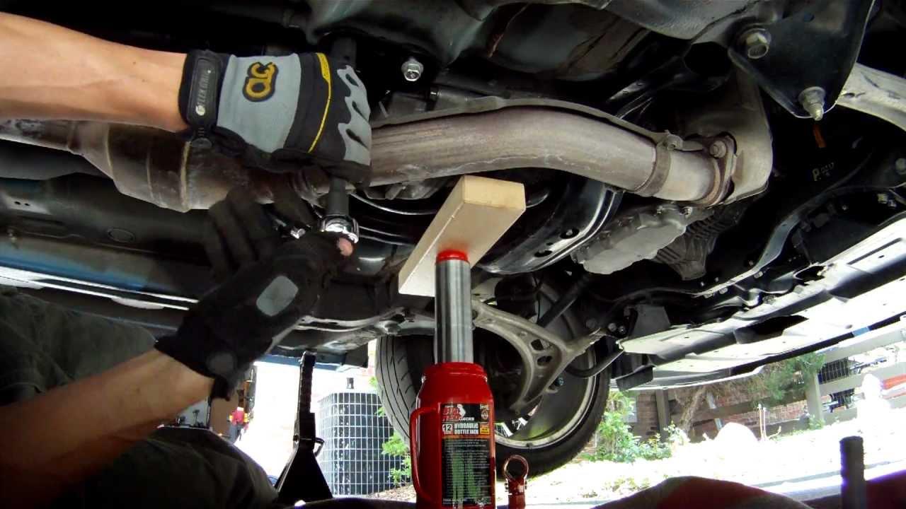 2010 Subaru STi Kartboy shifter bushings install - YouTube