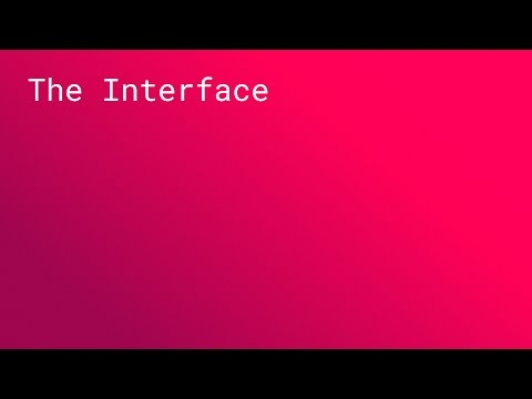 TALK: The Interface (SPAN NYC 2015)