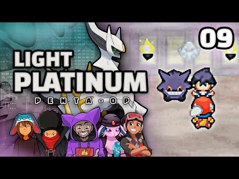 "Pokémon Light Platinum 5-Player Randomized Nuzlocke - Ep 9 ""The Tower of Death"""