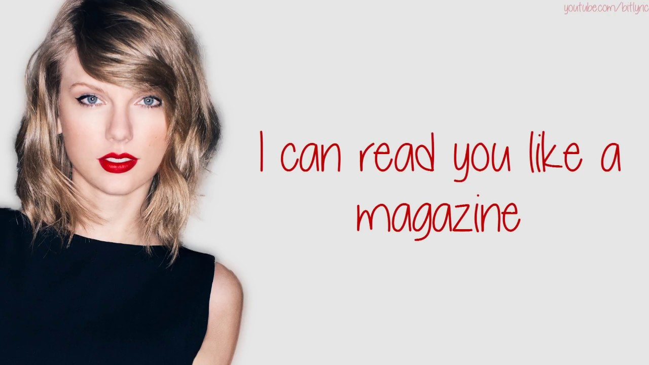 Taylor Swift - Blank Space (Lyrics)