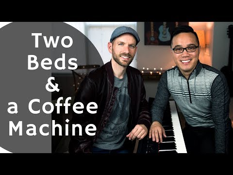 Two Beds and a Coffee Machine (Cover)