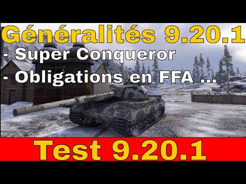 [WoT FR]  9.20.1 Généralité - World of Tanks (français)