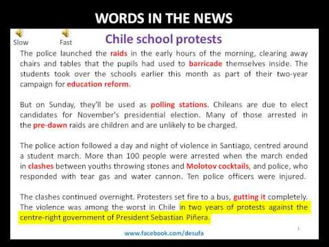 130706 WINT  Chile school protests