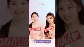 Download 210329 TWICE's Sana and Dahyun for A'pieu (Link in the Box)