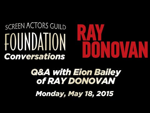 Conversations with Eion Bailey of RAY DONOVAN
