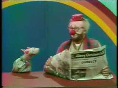 vintage koco ho ho the clown part 1 youtube. Black Bedroom Furniture Sets. Home Design Ideas