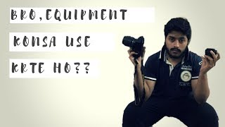 A Bet + The Equipment I Use | Vlog008