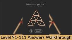 Tricky Test 2   Level 91-111 Answers Walkthrough