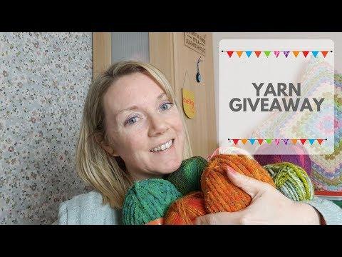 Crochet For Beginners Yarn Giveaway!!!!!!