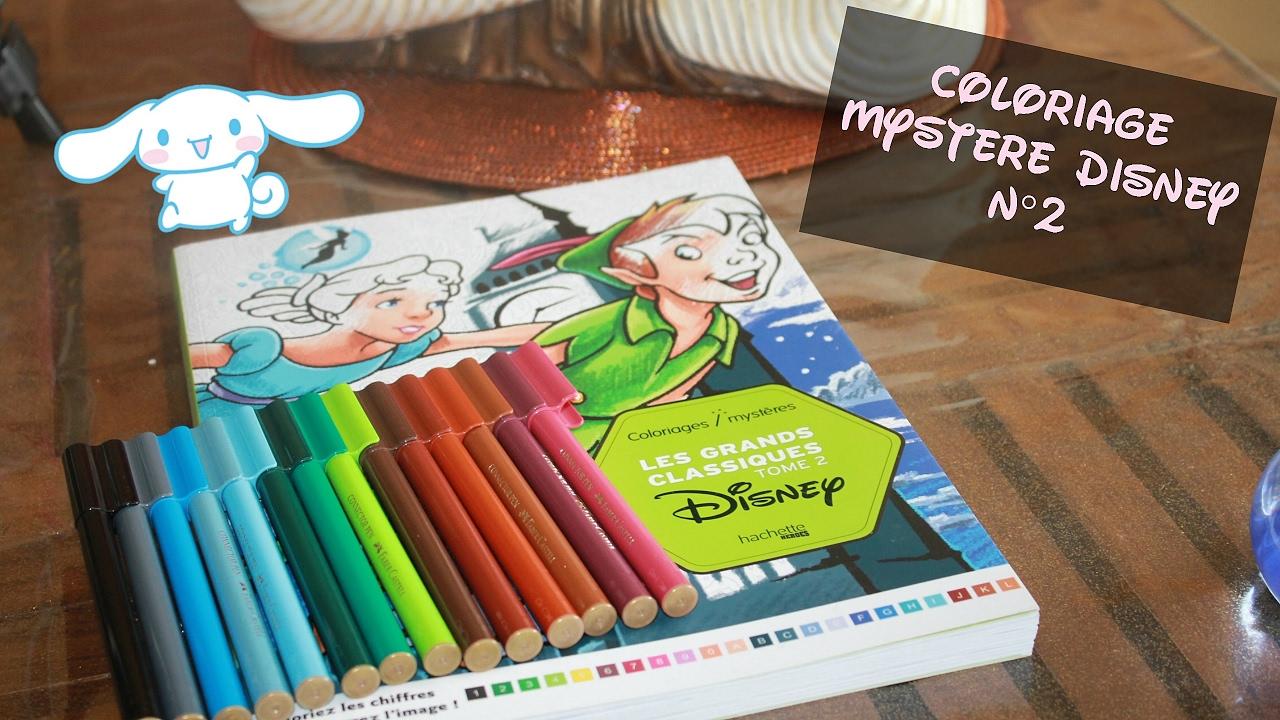 Coloriage Mystère Disney n°16 ♥