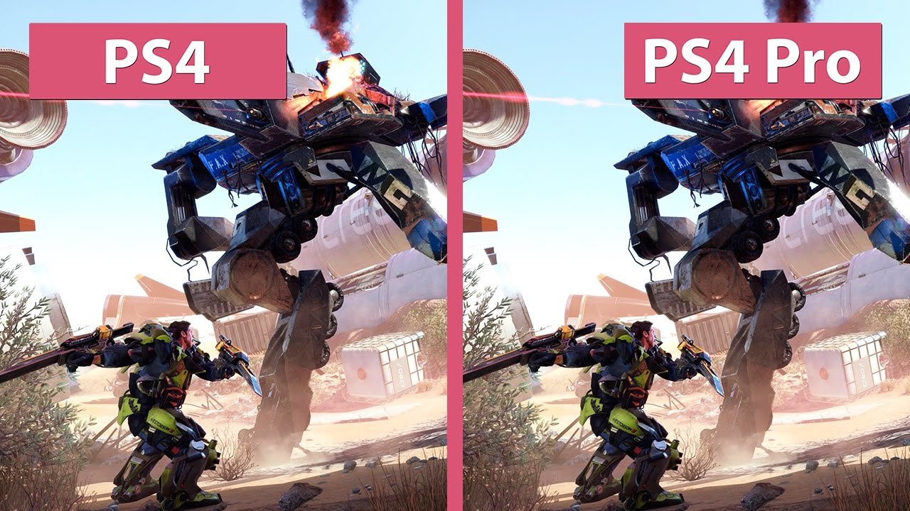 4K UHD | The Surge – PS4 vs. PS4 Pro Graphics Comparison & Frame ...