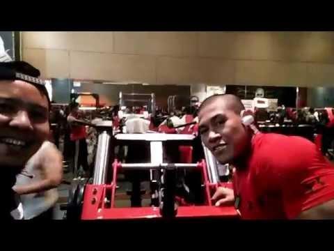 Fitness mania Osbond Gym Jakarta Rame nih..