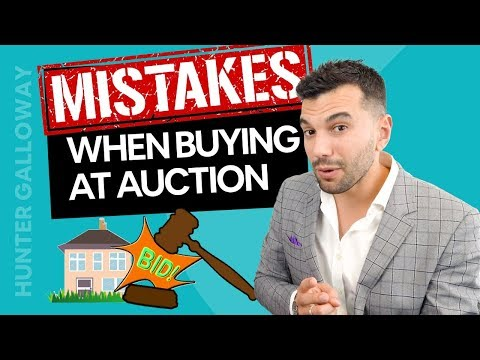 6 MASSIVE Mistakes When Buying At Auction