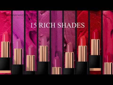 MANISH MALHOTRA SOFT MATTE LIPSTICK | Hydrating Long-wear Lipstick