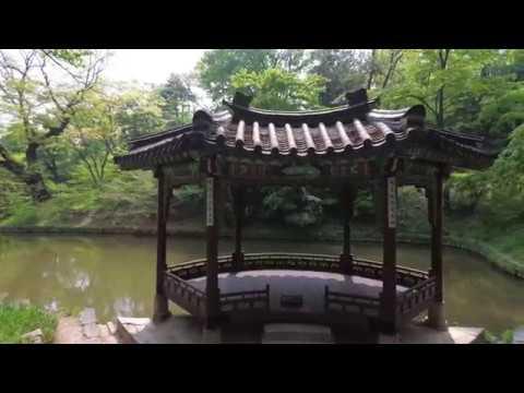 [4K] Walking around the Secret Garden of Changdeokgung Palace(Huwon), Seoul, Korea -창덕궁 후원