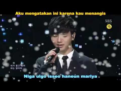 Ye Sung [Super Junior] – Gray paper Live Lirik Indonesia
