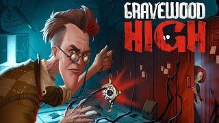 Gravewood High Alpha 1 - Escapando del PROFESOR MALVADO 😈 - Parte 1 - Gameplay Español
