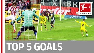 Reus, Bailey, Osako and More  - Top 5 Best Goals on Matchday 23