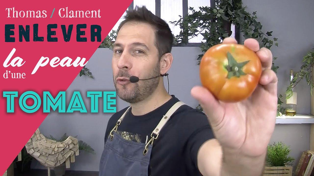 """Comment enlever la Peau d""""une Tomate / Thomas CLAMENT"""