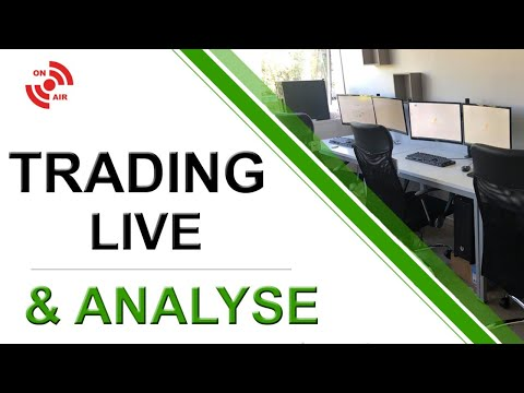 Trading Live Dax & Analyse Technique