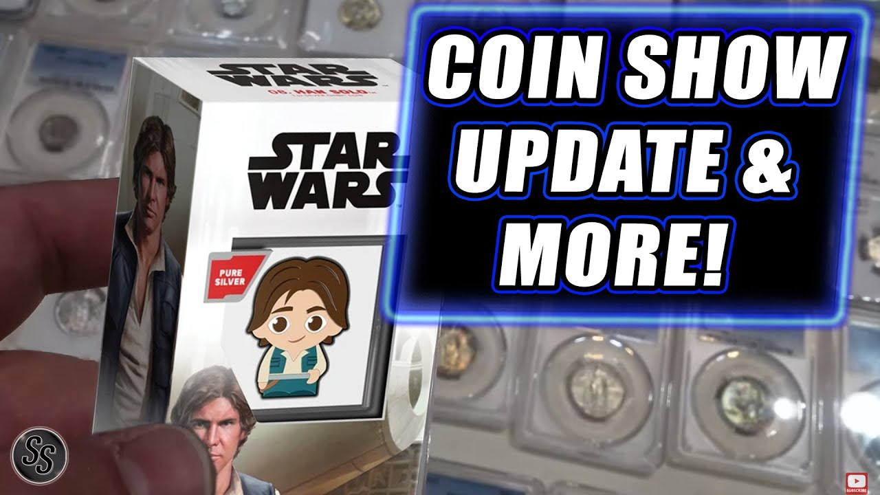 Coin Show, 2021 Halves and More - Channel Update!