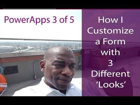 PA: 3 of 5 | 3 Different Layouts for a Custom SP Form – Best PowerApps  Tutorial for Beginners
