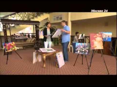 Раскраски по номерам HOBBART на телеканале Москва 24 в ...