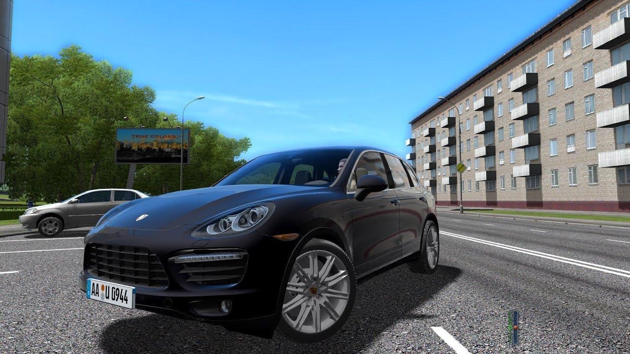 City Car Driving 1 5 4 Porsche Cayenne Turbo 2017 Link 60fps 1080p