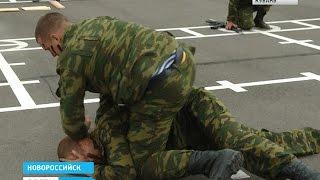 В Новороссийске десантники выполняют особую боевую задачу