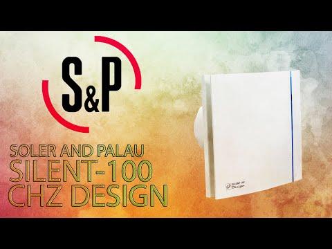 ОНЛАЙН ТРЕЙД.РУ — Вентилятор вытяжной Soler & Palau SILENT-100 CHZ DESIGN