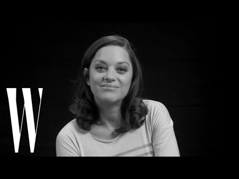 Marion Cotillard Knows She Would Make a Bad Spy  W Magazine
