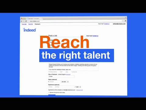 "Indeed - ""Sponsored Jobs"" (U.K.) - RocketWheel Videos"
