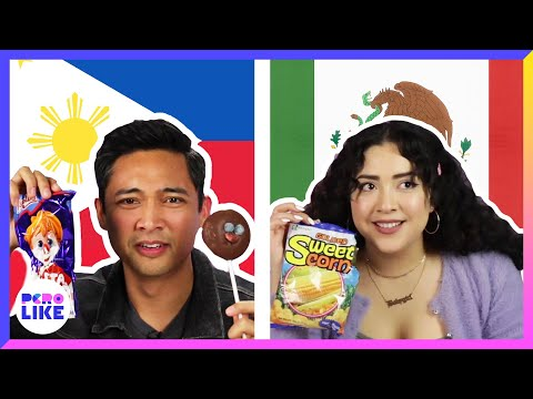 Mexicans and Filipinos Swap Snacks